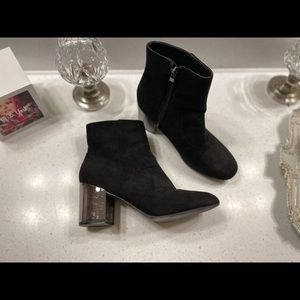 Hot Kiss Black Mirrored Boots